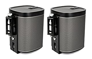 Flexson AAV-FLXPLAY1B2 Wall Bracket for Sonos Play:1 - Pair (Black) (B00G4CKWN8) | Amazon price tracker / tracking, Amazon price history charts, Amazon price watches, Amazon price drop alerts