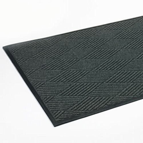 Crown S1R046ST Slate Polypropylene 45 x 70 Super-Soaker Diamond Mat, 45 x 70