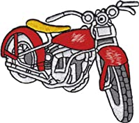 Application Vintage Red Bike Patch