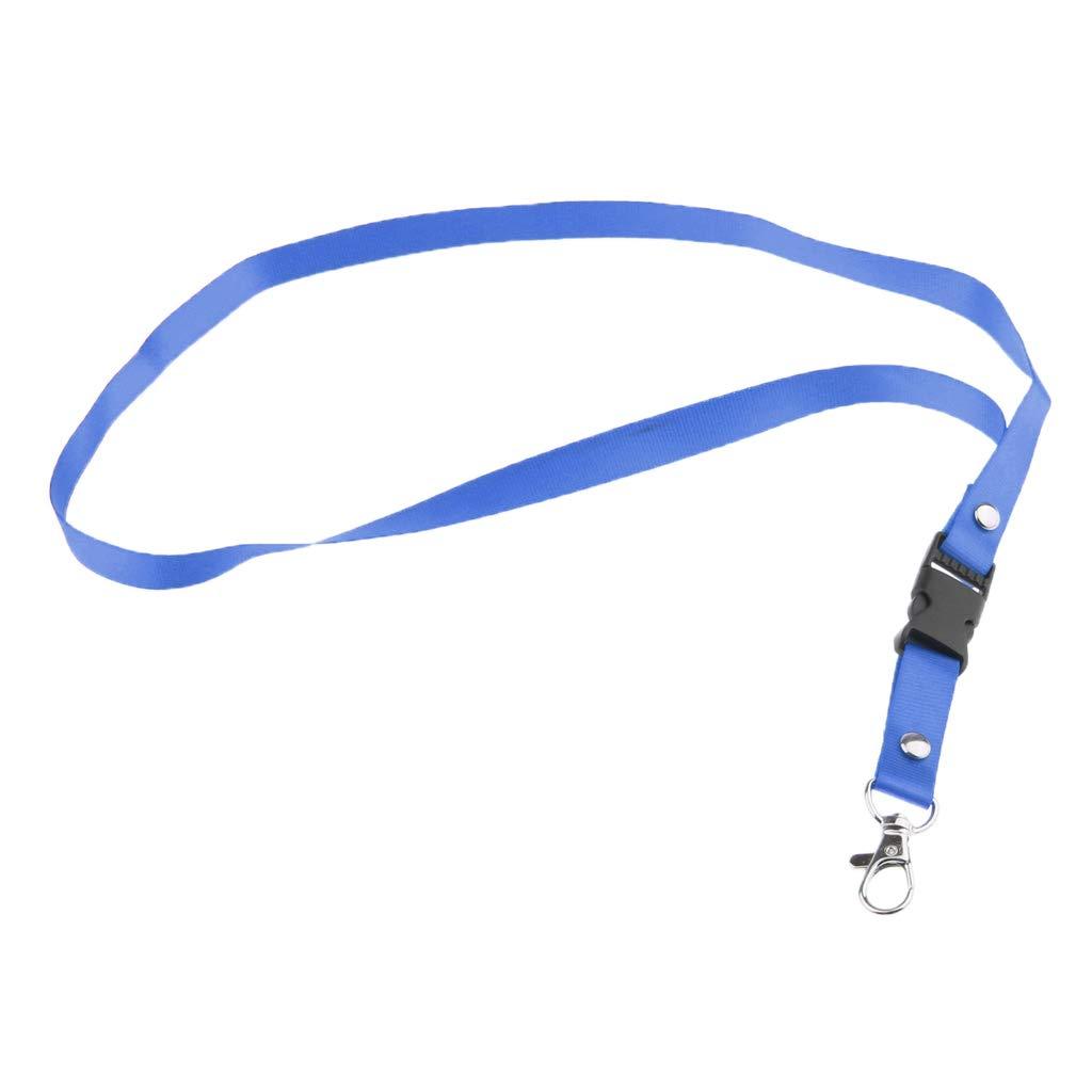 10x Lanyard Neck Strap for Keys USB ID Badge Holder Name Tag w// Swivel Clasp