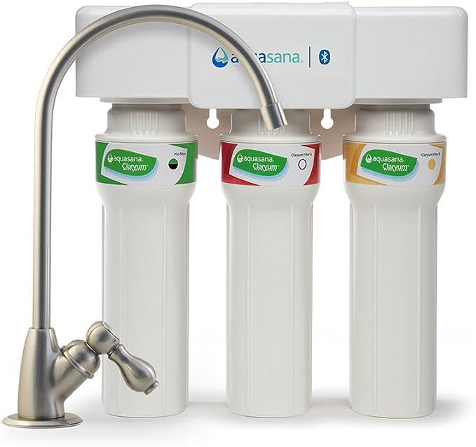 Aquasana aq-5300 + .55 de flujo máximo debajo del fregadero filtro ...