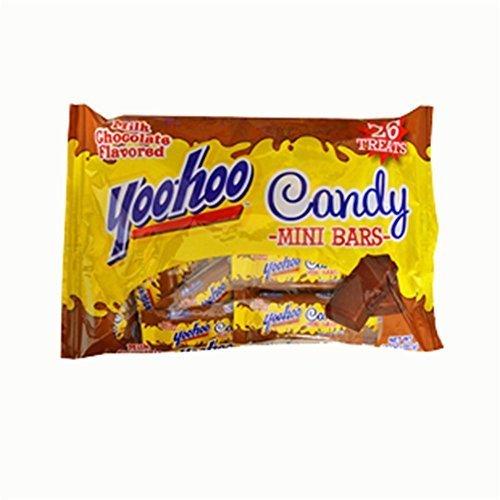 Yoo-hoo Candy Mini Bars Milk Chocolate Flavored 26 Treats 14 Oz. Bag by Yoo Hoo ()