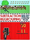 Subtraction with Regrouping (Borrowing) Song: Animated Educational Video For Kids