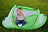 Baby : Baby tent, Pop-Up beach tent, Instant travel tent for baby, Protect from sun & bugs (Green)