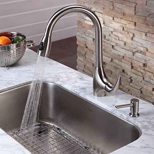 Kraus soap dispenser for Faucet and soap dispenser placement