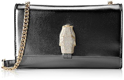 Cavalli Class Rsvp Treasure - Shoppers y bolsos de hombro Mujer Negro (Black)