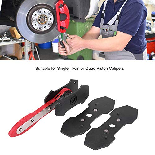 Supercrazy Car Brake Piston Caliper Press Tool Disc Brake Piston Calipers Spreader Separator Pad Installation Removal Wrench - Brake Disc Piston Spreader