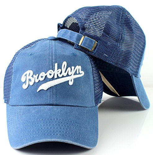 dodgers raglan bones soft mesh back slouch twill cap 1955 brooklyn baseball