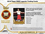 2018 Topps Legends of the WWE Wrestling Hobby