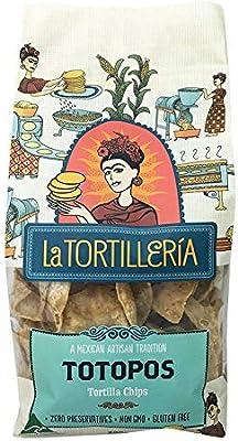 La Tortilleria Totopos - Tortilla Chips 200g: Amazon com au