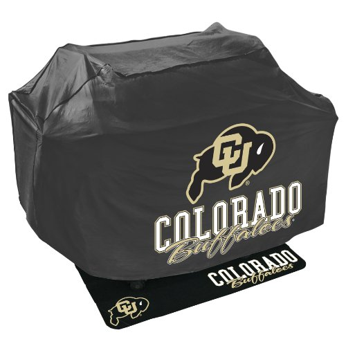 Price comparison product image Mr. Bar B Q NCAA Grill Cover and Grill Mat Set, University of Colorado Buffaloes