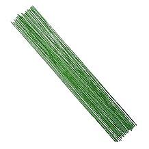 Decora 18 Gauge Green Floral Wire 16 inch,50/Package