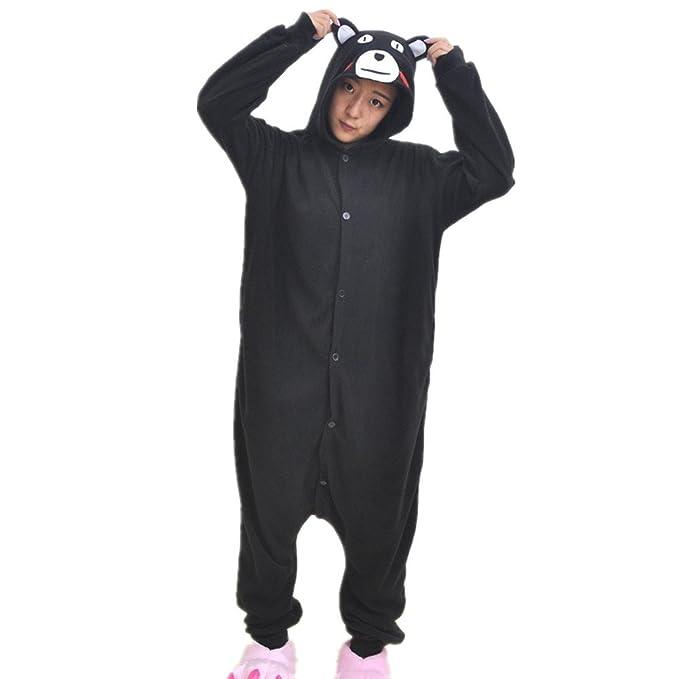 BOMOVO Pijamas Ropa de Dormir Disfraz de Animal Cosplay para Niños - Kumamon