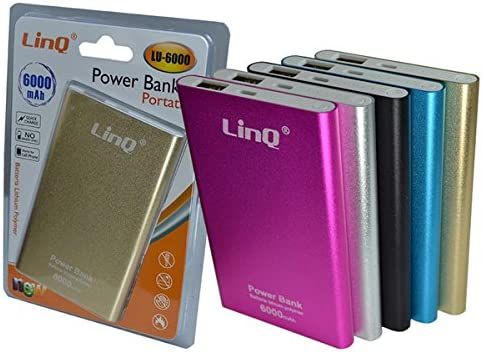 Power Bank 6000 mAh cigalinq® Lu de 6000, batería externa Powder ...