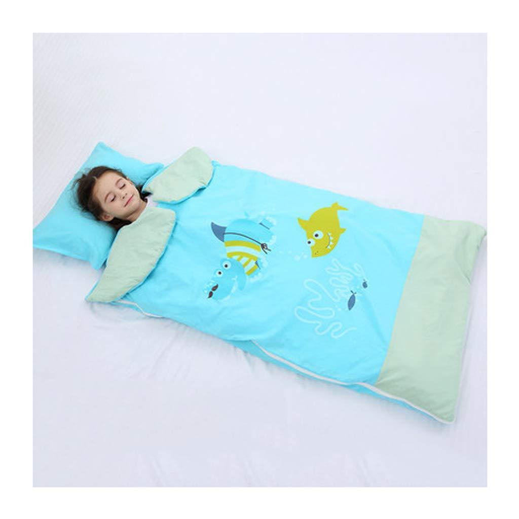 Wolaoma Babyschlafsack Herbst und Winter Modelle Steppdecke für Kinder (Farbe   B, größe   100  180cm)