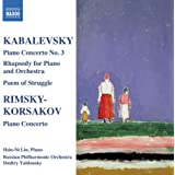 Piano Concertos No 3 / Rhapsody for Piano & Orch