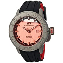Technomarine Men's 'Reef' Automatic Titanium and Silicone Casual Watch, Color:Two Tone (Model: TM-516008)