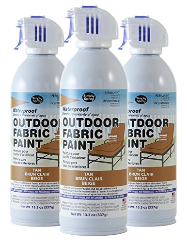 Simply Spray Outdoor Waterproof Fabric Spray Paint 13.3 Oz.