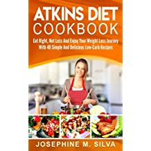Atkins Diet Cookbook: Eat Right, Not Less And Enjoy Your Weight Loss Journey With 40 Simple And Delicious Low-Carb Recipes