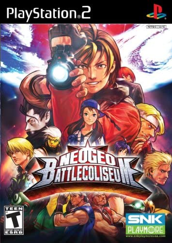 Amazon.com: NeoGeo Battle Coliseum - PlayStation 2: Video Games