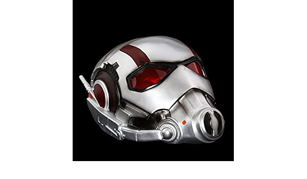 2104 newant-man casco Antman disfraz Ant Man máscara Cosplay Halloween mascaras máscaras Batman Iron Man Casco Carnaval - Disfraz hombres: Amazon.es: Hogar