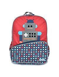 Little JJ Cole Toddler Backpack, Robot