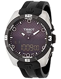 Tissot Men's T0914204705100 T-Touch Expert Analog-Digital Titanium Watch