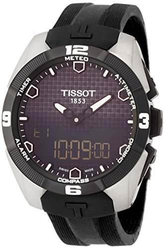 Tissot Men's T0914204705100 T-Touch Expert Analog-Digital Titanium Watch ()