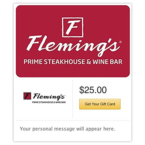 Fleming's Prime Steakhouse & Wine Bar - E-mail Delivery