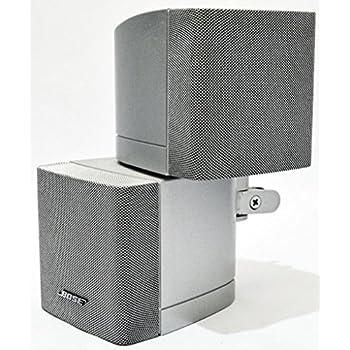 bose speaker acoustimass double cube silver. Black Bedroom Furniture Sets. Home Design Ideas