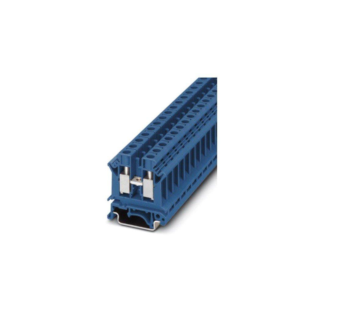 Bloc de jonction simple Contenu s 50 pc Phoenix Contact UK 10 N BU 3005086