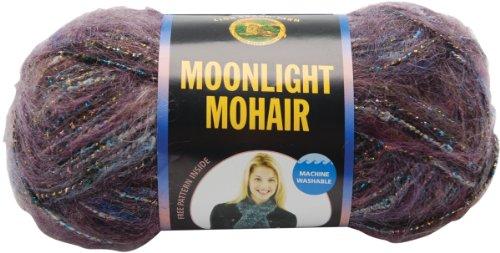 Lion Brand Yarn Moonlight Mohair Yarn, Purple Mountains - Moonlight Mohair Yarn