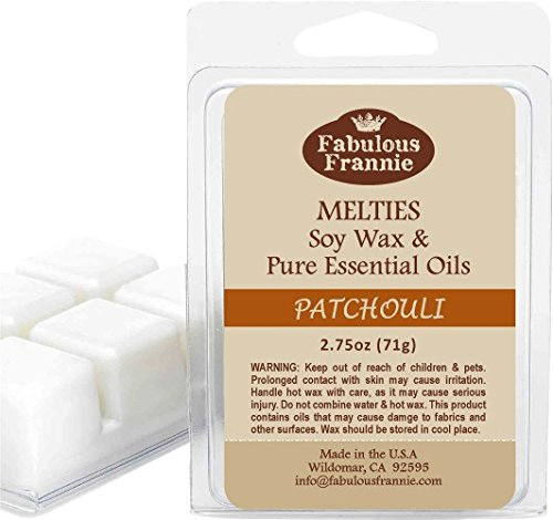 Fabulous Frannie Patchouli 100% Pure & Natural Soy Meltie 2.