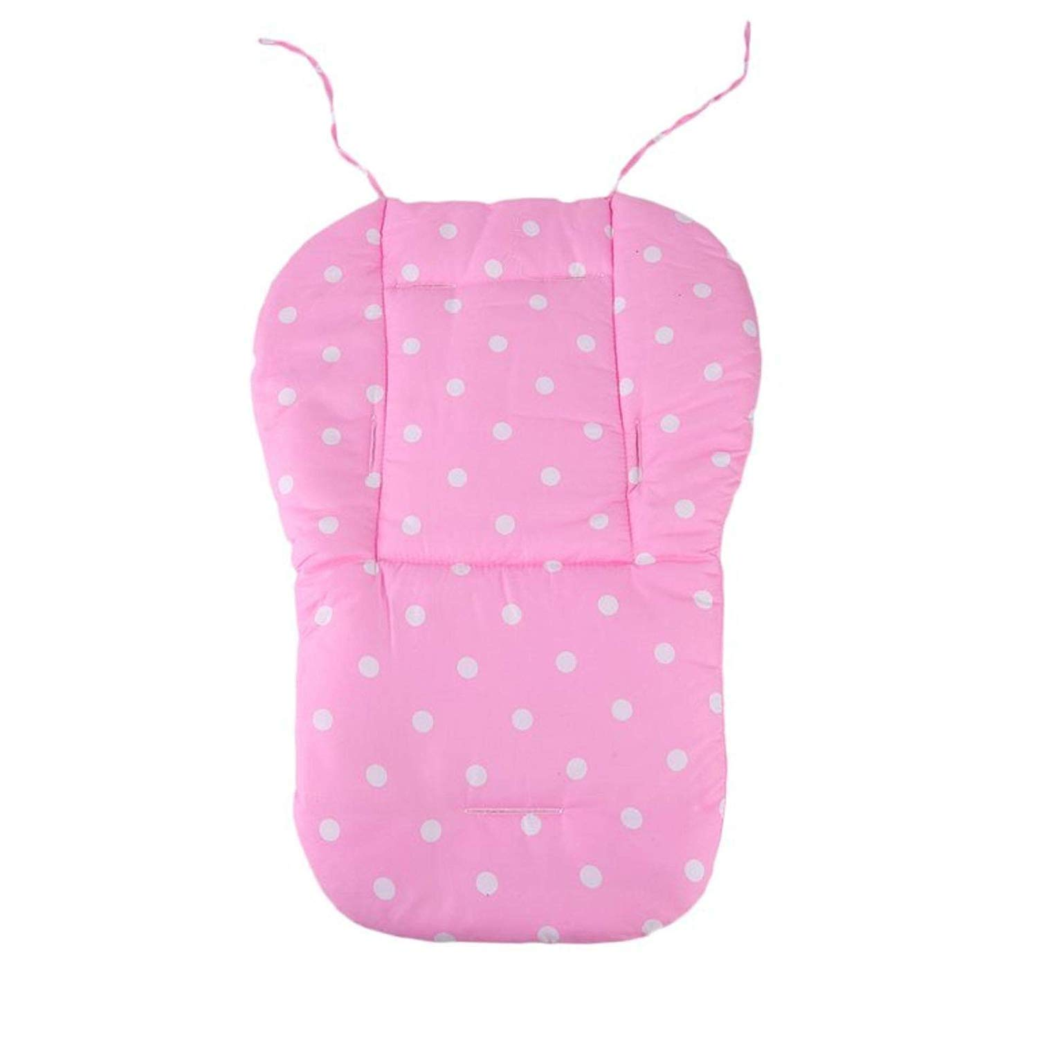 Replacement Parts/Accessories to fit 4moms Strollers and Car Seats Products for Babies, Toddlers, and Children (Pink Polka Dot Cushion)