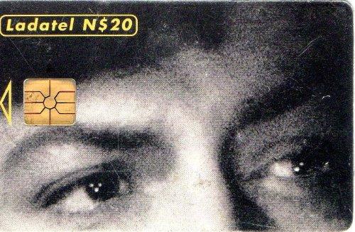 Jorge Negrete Ojos En El Cine Mexicano Mexican Ladatel Phone Card Historia De Un Gran Amor