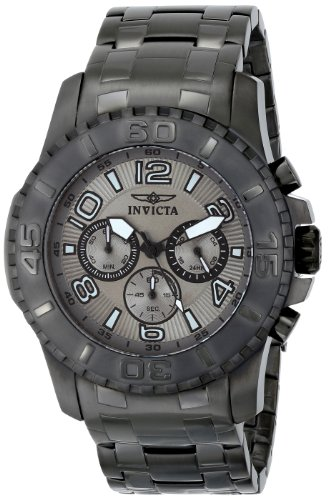 - Invicta Men's 15024 Pro Diver Analog Display Japanese Quartz Grey Watch