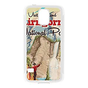 Cairngorms White Silicon Rubber Case for Galaxy S5 by Nick Greenaway + FREE Crystal Clear Screen Protector