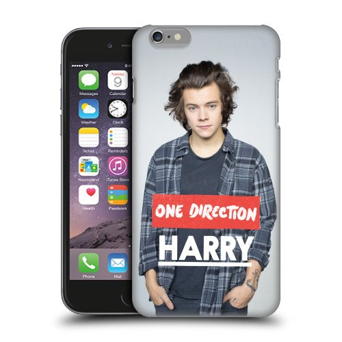 Official One Direction 1D Polo Harry Styles Photo Hard Back Case Cover for Apple iPhone 6 Plus 5.5