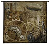 Fine Art Tapestries ''Steampunk'' Wall Tapestry