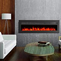 GMHome Wall Recessed Electric Fireplace ...