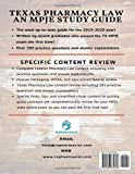 Texas Pharmacy Law: An MPJE Study Guide