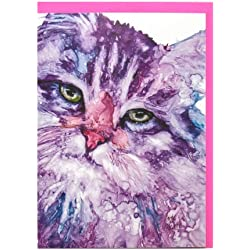 Rainbow Card Company Caustic Cats Greeting Card -Maximus Cactus