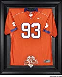 Clemson Tigers Framed College Football Playoff 2016 National Champions Black Logo Jersey Display Case - Fanatics Authentic Certified