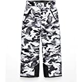 The North Face Boy's Freedom Insulated Pant - TNF Black Camouflage Print - L