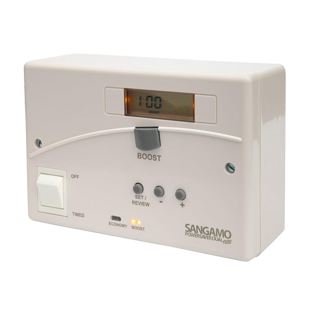 Sangamo PSDUALFLEXI Powersaver Dual Flexi - Economy 7 Immersion Time  Controller: Amazon.co.uk: DIY & Tools