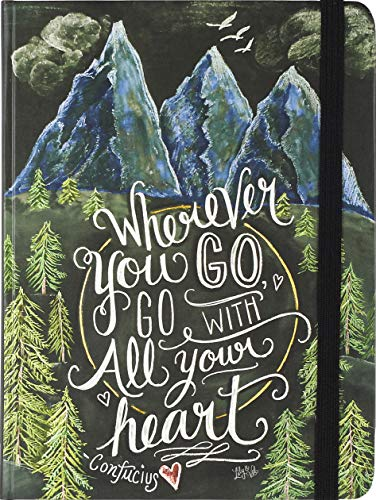 Wherever You Go, Go with All Your Heart Journal (Diary, Notebook) ()