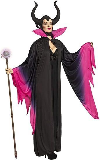 BOLAND BV Disfraz de Maléfica Hechicera para Mujer S: Amazon.es ...