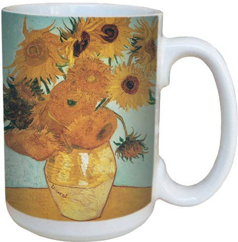 Van Gogh Sunflowers Design Mug