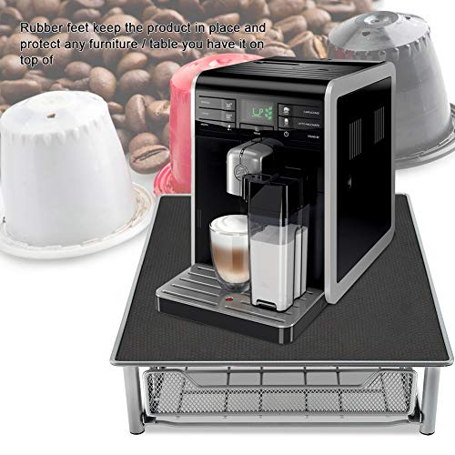 Coffee Pod Holder, Mesh Drawer Coffee Capsule Display Stand Heat Resistant for Home and Office, Holds 60 Coffee Pods by Asixx (Image #1)