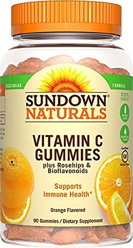 - Sundown Naturals Vitamin C Gummies, 90 Count Bottle (Pack of 5)